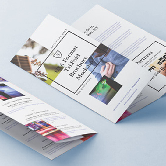 Cheap Leaflet Printing, Fast Turnaround, UK Delivery by AdanaPrint.co.uk
