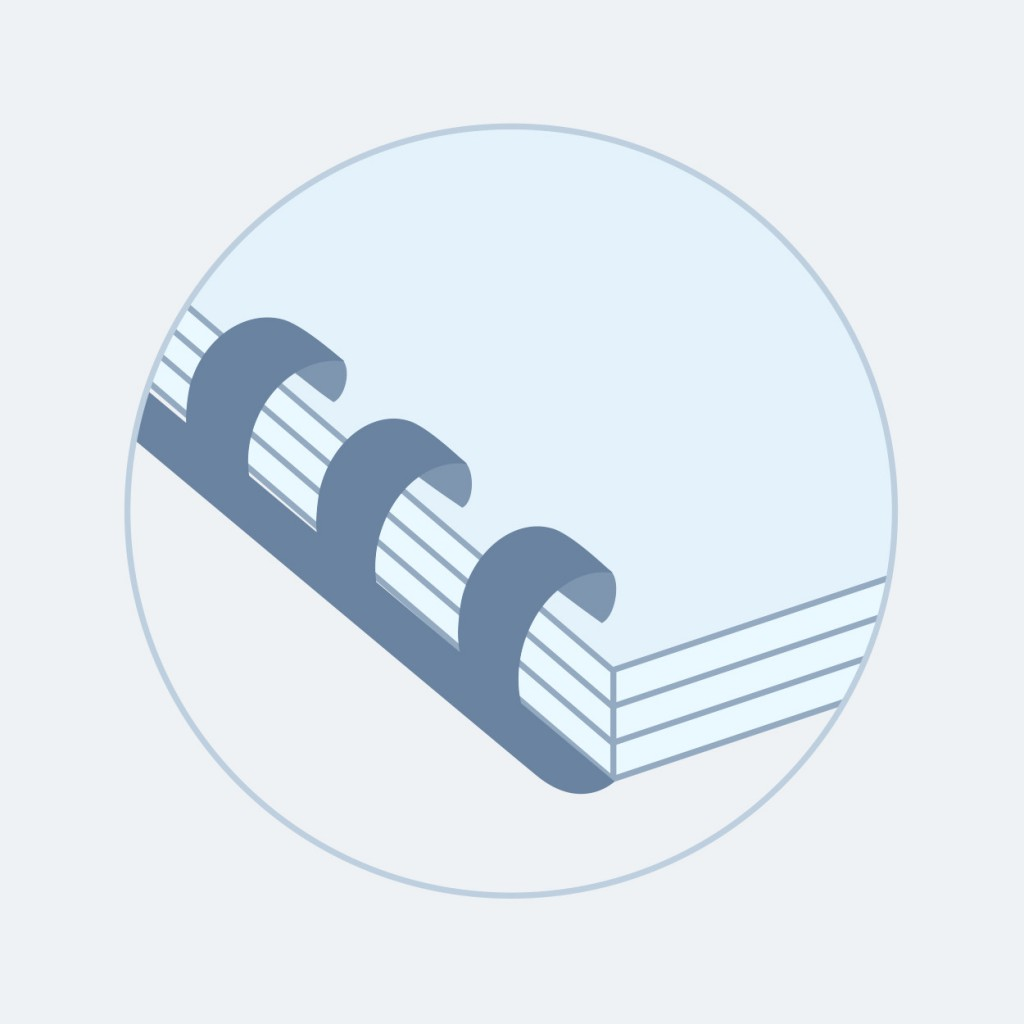ADANA offers same-day plastic comb binding for your documents up to A3 size. Get plastic comb binding with fast turnaround and at competitive prices in London.