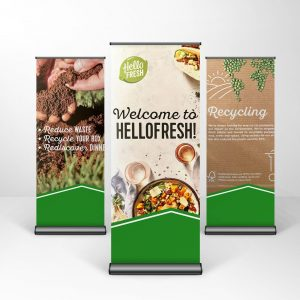 Same Day Roller Banner Printing London