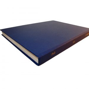 Thesis & dissertation book binding service for students in London